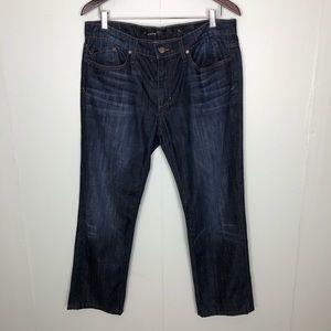 Joe's Jeans Dark Wash Brixton Jeans Size 34